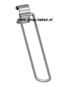Inline skate haak tbv ovaal draagbalk D.420 mm chroom