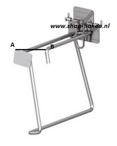 Hamer haak D.215 mm